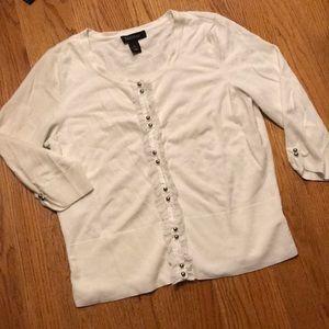 Women's White House Black Market size L sweater